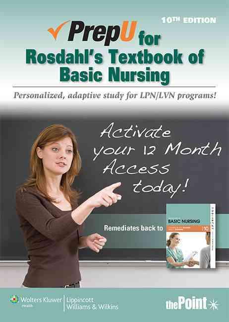 Textbook of Basic Nursing Prepu By Rosdahl, Caroline
